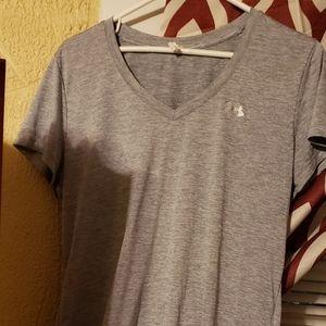 Under armour heat gear tshirt in grey